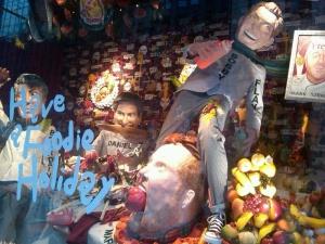 daniel boulud holiday windows at Barney's
