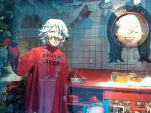 rachael ray holiday windows at Barney's