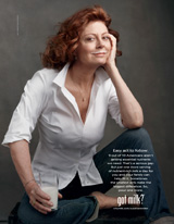 got milk? pour one more susan sarandon