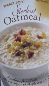 trader joe's frozen oatmeal