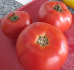 cooking with heirloom tomatoes