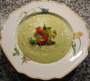 cucumber soup recipe